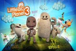 Little Big Planet 3 review logo