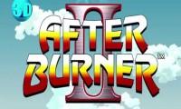 After burner 3d screen logo