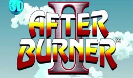 After burner 3d screen logo