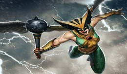 Infinite Crisis Hawkgirl artwork