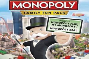 monopoly family fun pack review logo