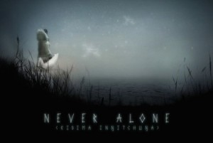 never alone test review logo