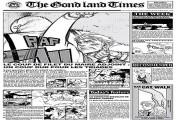rudolf turkey gazette gond land times