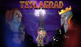 Teslagrad Test Review logo