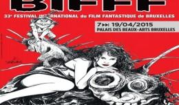 BIFFF 2015 affiche logo