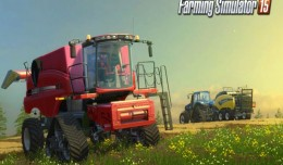 Farming Simulator 15 console screen 1