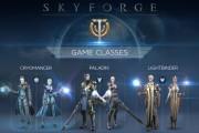 Skyforge classes infographie logo