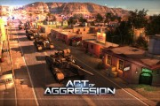 act of agression gameplay logo