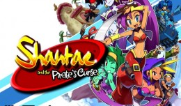 shantae and the pirate's curse test logo