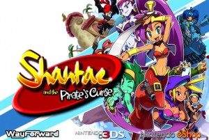 shantae and the pirate's curse test logo