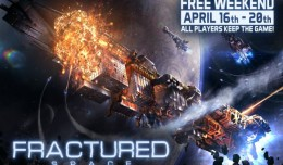 fractured space free week-end logo