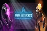 mayan death robot logo