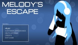 melody's escape test review logo