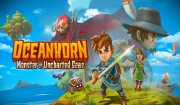oceanhorn monster of uncharted seas review screen logo