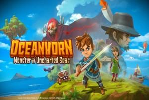 oceanhorn monster of uncharted seas review screen logo