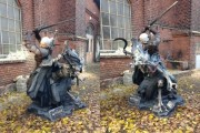 the witcher 3 traque sauvage irl statue finale