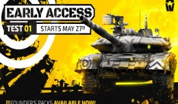 armored warfare early access logo