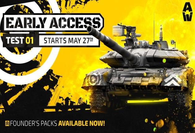armored warfare early access logo