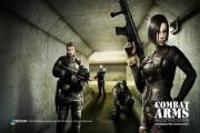 combat arms online fps nexon logo