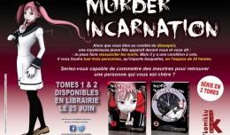 murder incarnation 1 & 2 logo komikku