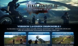 FFXV -Episode Duscae version 2 logo