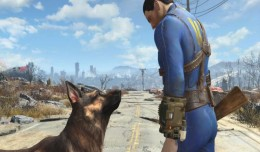 Fallout 4 Screen 1 dog logo