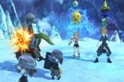 World of Final Fantasy Screen Logo
