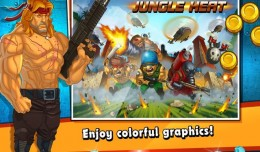 jungle heat windows phone screen 1