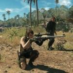 L'énigmatique Quiet pourra vous épauler durant les missions, tout comme un mini-Metal Gear très utile.