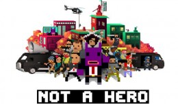 not a hero review test screen logo