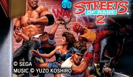 3D Streets of Rage 2 Nintendo 3DS Screen 1
