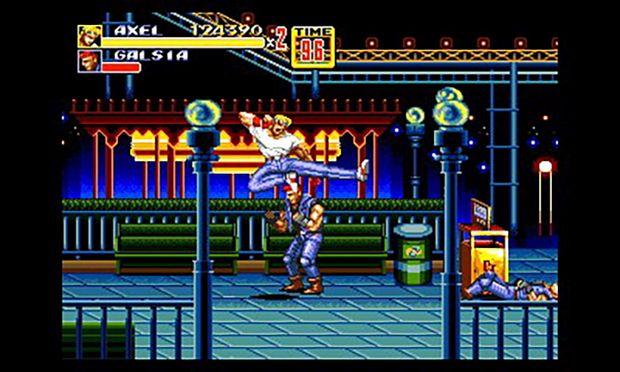 3D Streets of Rage 2 Nintendo 3DS Screen 2