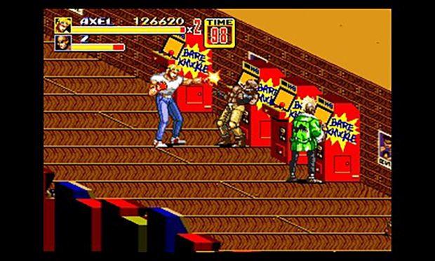 3D Streets of Rage 2 Nintendo 3DS Screen 3