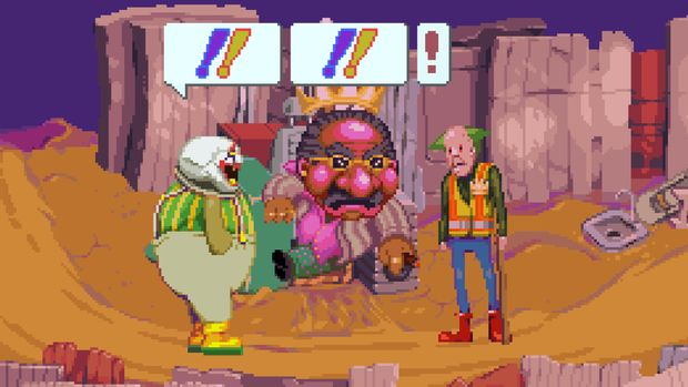 Dropsy the clown Screen 2