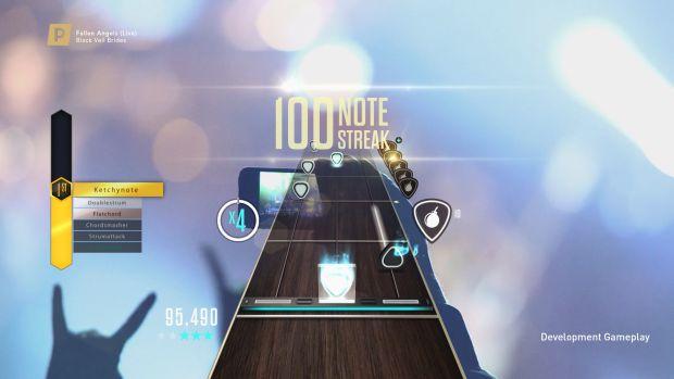 Guitar Hero Live Premium Show Black Veil Screen 1
