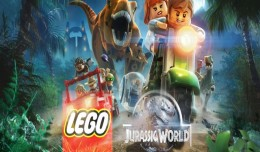 Lego jurassic world test review logo