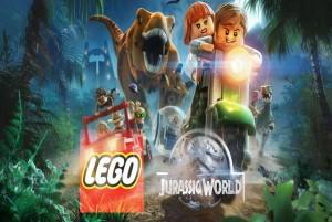 Lego jurassic world test review logo