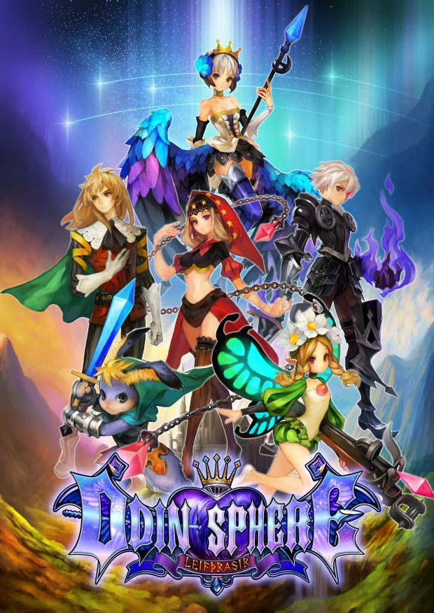 Odin Sphere Leifthrasir Artwork