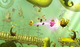 Rayman Adventures screen  logo