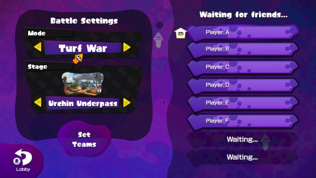 Splatoon big update screen 3