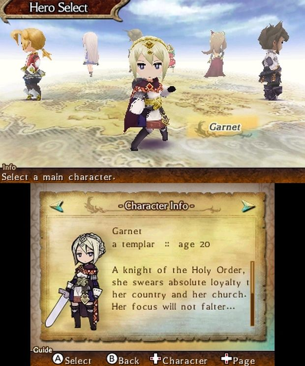 The Legend of legacy europe screen 2