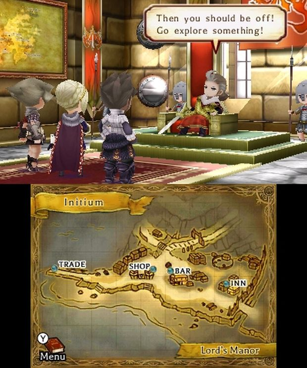The Legend of legacy europe screen 3