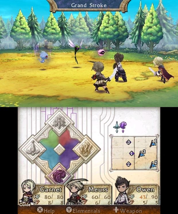 The Legend of legacy europe screen 4
