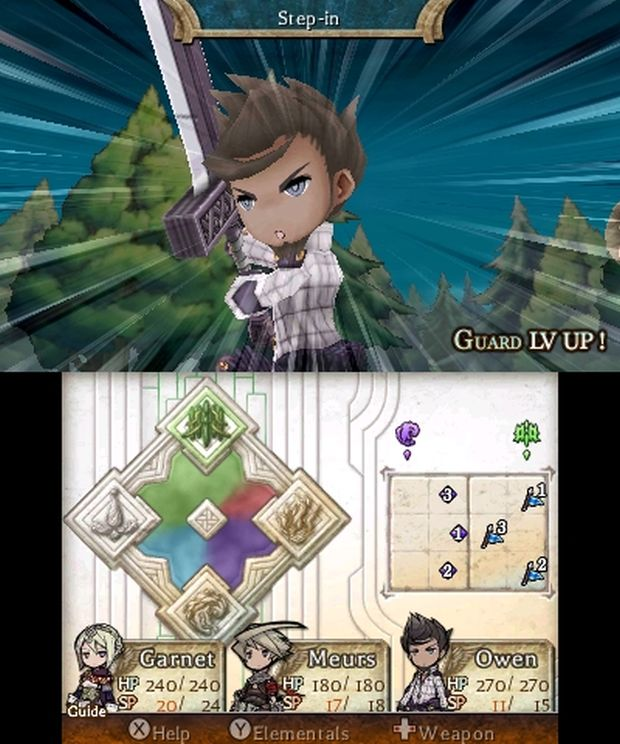 The Legend of legacy europe screen 6