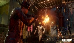 Le mode Zombie, propre aux Call of made in Treyarch, répond présent et se montre excessivement bien mis en scène