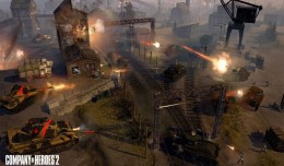 company of heroes 2 the british forces churchill tank