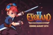 evoland 2 launch screen logo
