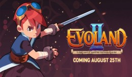 evoland 2 launch screen logo
