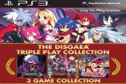 he disgaea triple play collection logo ps3