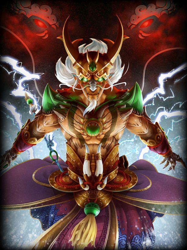 smite ao kuang dragon king giveaway n-gamz